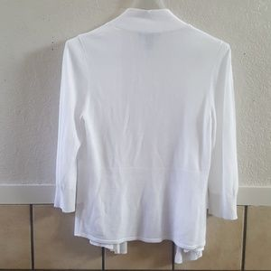 White House Black Market Sweaters - White House Black Market layered front cardigan S